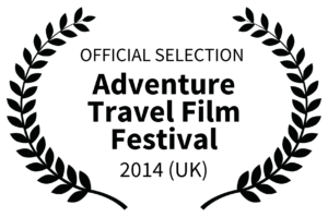OFFICIAL SELECTION - Adventure Travel Film Festival Logo - 2014 UK