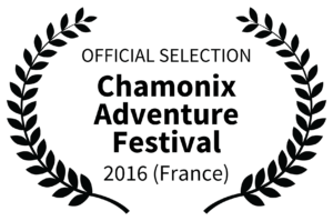 OFFICIAL SELECTION - Chamonix Adventure Festival Logo - 2016 France