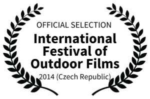 OFFICIAL SELECTION - International Festival of Outdoor Films Logo - 2014 Czech Republic