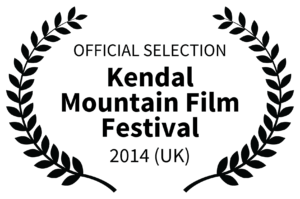 OFFICIAL SELECTION - Kendal Mountain Film Festival Logo - 2014 UK