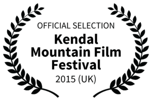 OFFICIAL SELECTION - Kendal Mountain Film Festival Logo - 2015 UK