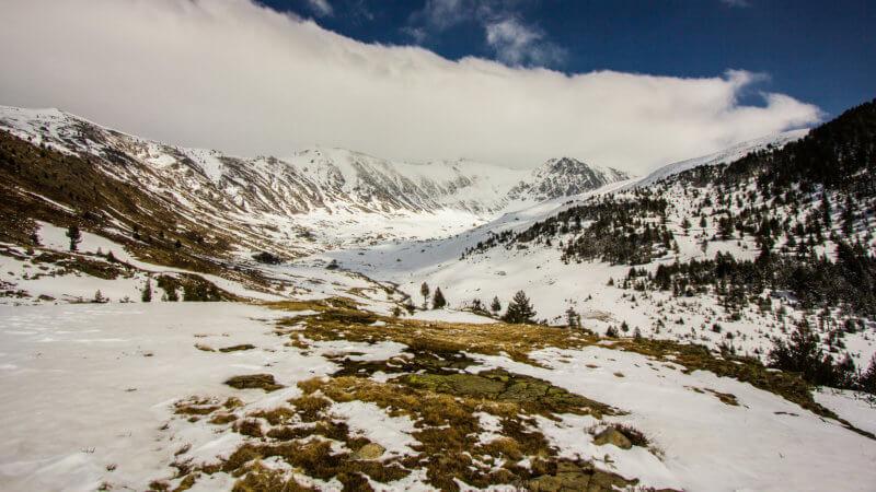 Landscape Peaks of the Balkans Trail photo near Kosovo.