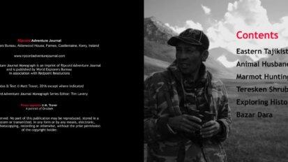 Eastern Tajikistan Photo Book - Sample Page 1