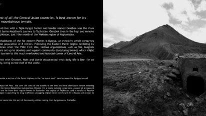Eastern Tajikistan Photo Book - Sample Page 2