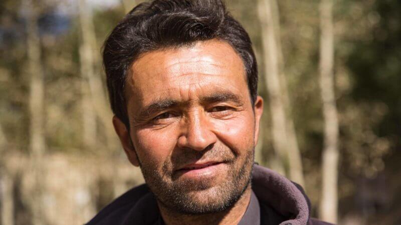 Portrait of Wakhan Corridor ranger.