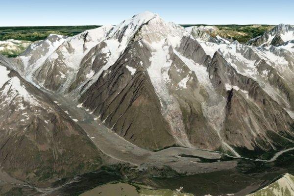 Miage Face - Mt. Blanc